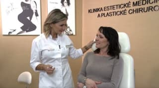 Fillers, Eyelids - Dagmar - TV Nova