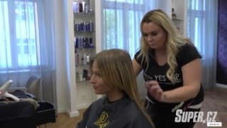 Petr Svoboda on hair extensions by NANO method at YES VIP Salon